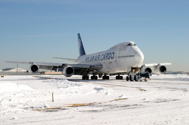 JFK Polar Air Cargo 747 EMAS save, January 22, 2005